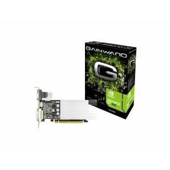 GAINWARD GeForce GT610 Silent FX 1GB, 426018336-2654, grafická karta, GeForce GT 610, 1GB, DDR3, PCIe 2.0, 15pin D-sub, DVI, HDMI, NVIDIA CUDA, pasivní chladič