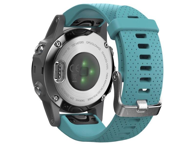... GARMIN GPS chytré hodinky fenix5S Silver Optic e6dd9cb6f93