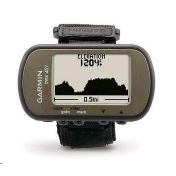 GARMIN Foretrex 401, 010-00777-_topo, ruční GPS navigace, 2xAAA