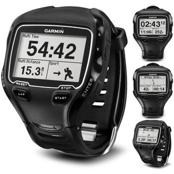 GARMIN Forerunner 910 XT HR Premium + TOPO Czech, 010-00741-21_topo, černý (black), ruční GPS navigace