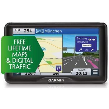 "GARMIN Camper760T-D Lifetime Europe45, 010-01168-01, GPS navigace do auta, micro SD, BT, 7"" displej, RDS/TMC, 45 zemí Evropy"