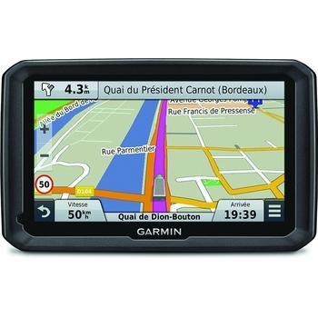 "GARMIN Dezl 770T Lifetime Europe45, 010-01343-11, GPS navigace do auta, micro SD, BT, 7"" displej, RDS/TMC, 45 zemí Evropy"