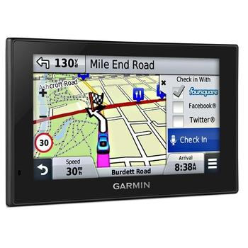 """GARMIN Nuvi 2589 Lifetime Europe45, 010-01187-22, GPS navigace do auta, micro SD, BT, 5"""" displej, 45 zemí Evropy"""