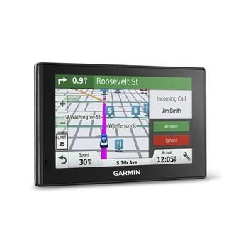"GARMIN DriveSmart 50T Lifetime Europe45, 010-01539-11, GPS navigace do auta, micro SD, handsfree, BT, 5"" displej, RDS/TMC, 45 zemí Evropy"