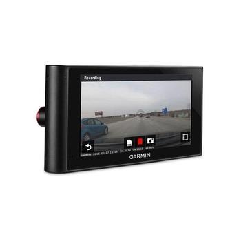 """GARMIN nuviCam Lifetime Europe45 s vestavěnou čelní kamerou, 010-01378-02, GPS navigace do auta, handsfree, BT, 6"""" displej, 45 zemí Evropy"""