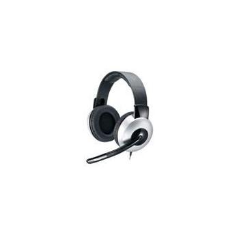 GENIUS HS-05A, 31710011100, sluchátka, ovládání hlasitosti, jack 3,5mm, s mikrofonem, 32 Ohm