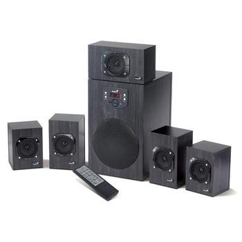 GENIUS SW-HF 5.1 4500 HT, 31730979100, reproduktory, 5.1ch zvuk, dřevo, 125W, DO