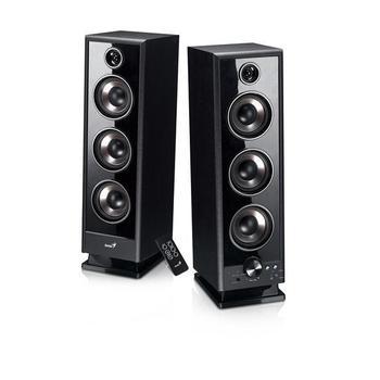 GENIUS SP-HF 2020 V2, 31731043102, černé (black), reproduktory, 2.0ch zvuk, dřevo, 60W, jack 3,5mm, DO