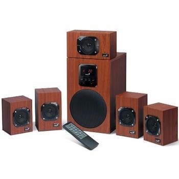 GENIUS SW-HF5.1 4800, 31731048100, reproduktory, 5.1ch zvuk, 125W, výstup na sluchátka