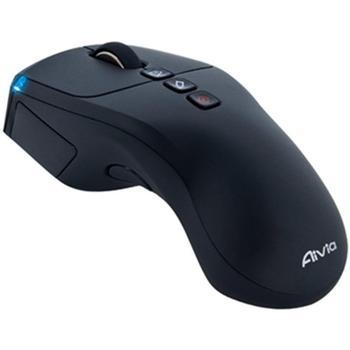 GIGABYTE Aivia Neon, GM-Aivia Neon, černá (black), bezdrátová myš, laserová, 7 tlač. + kolečko, 1200dpi, bezdrátová, USB