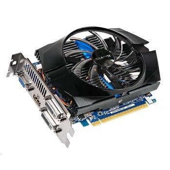GIGABYTE GT740 1GB DDR5 (Overclock), GV-N740D5OC-1GI, grafická karta, GeForce GT 740, 1GB, DDR5, PCIe 3.0, 15pin D-sub, 2x DVI, HDMI, NVIDIA CUDA