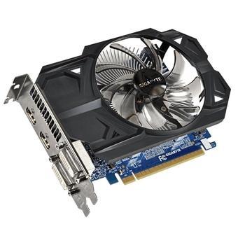 GIGABYTE GV-N75TOC-1GI, GV-N75TOC-1GI, grafická karta, GeForce GTX 750 Ti, 1GB, DDR5, PCIe 3.0, 2x DVI, 2x HDMI, NVIDIA CUDA