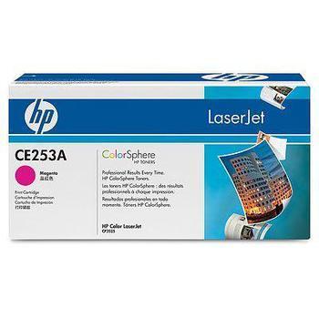 HP CE253A, CE253A, purpurový (magenta), toner, pro Color LaserJet CP3520, CP3525dn, CP3525n, CP3525x