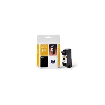 HP C6615D (č.15), C6615DE, černá (black), 25 ml, inkoustová náplň pro 840, 845c, PSC750, PSC950, 940c, 920c, V40 ..