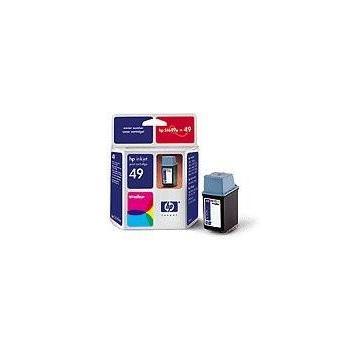 HP 51649A (č.49), 51649AE, barevná (color), 22 ml, inkoustová náplň pro 690c, 640c, 670c, 610c, 656c