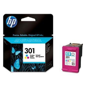 HP CH562EE (č.301), CH562EE, barevná (color), inkoustová náplň pro Deskjet 1050, 2050