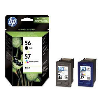 HP SA342AE (č.56 + č.57), SA342AE, černá + barevná, inkoustové náplně C6656A + C6657A