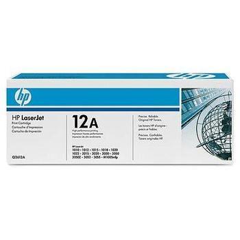 HP Q2612AD (2x č.12A), Q2612AD, černá, 2x 2000 stran, toner pro LJ 1010, 1020, 3020, 3030