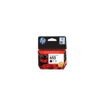 HP CZ109AE (č.655), CZ109AE, černý (black), inkoustová náplň pro Deskjet Ink Advantage 3525, 4615, 4625, 5525, 6525, 600 str.
