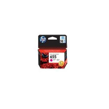 HP CZ111AE (č.655), CZ111AE, purpurová , inkoustová náplň pro Deskjet Ink Advantage 3525, 4615, 4625, 5525, 6525, 600 str.