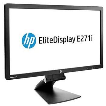 """HP E271i, D7Z72AA#ABB, černý (black), 27"""" LCD monitor, 16:9, TN LED, 5.000.000:1, 7 ms, 250cd/m2, 1920x1080, D-SUB, DVI, DisplayPort, USB HUB, Pivot"""