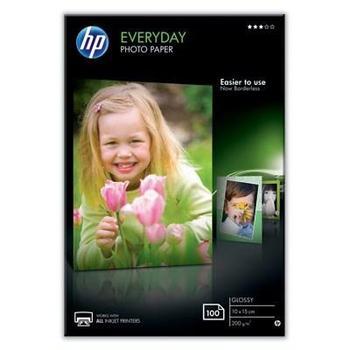 HP Everyday Glossy Photo Paper, CR757A, foto papíry, 10x15cm, 100 listů, 200g/m2, lesklý povrch