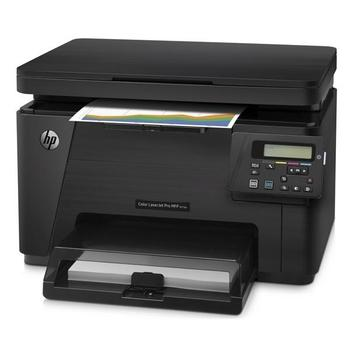 HP Color LaserJet Pro MFP M176n, CF547A#B19, multifunkce, laserová, barevná, tiskárna/ skener/ kopírka, 128MB, A4, 16 str./min.ČB, 600x600dpi, USB 2.0, LAN