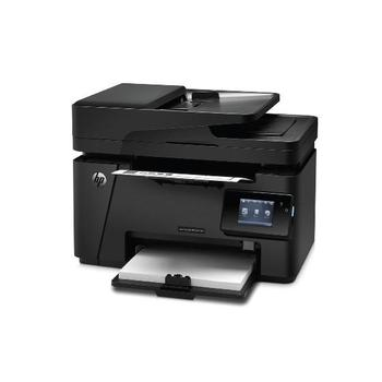 HP LaserJet Pro M127fn, CZ181A#B19, multifunkce, laserová, tiskárna/ skener/ kopírka/ fax, 128MB, A4, ADF, 20 str./min.ČB, 600x600dpi, USB 2.0, LAN