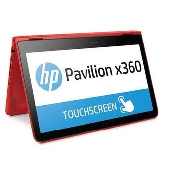 """HP Pavilion x360 13-s008nc, N1L96EA#BCM, červený (red), notebook, Core i5 5200U (Broadwell), Intel HD 5500, 13,3"""", 1920x1080, dotyk. displej, 4GB, HDD 500GB, W8, Wi-Fi, BT, CAM, USB 3.0,"""