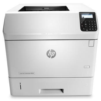 HP LaserJet Enterprise M604dn, E6B68A#B19, bílá (white), tiskárna, laserová, 512MB, A4, ADF, duplex, 50 str./min. ČB, 1200x1200dpi, USB 2.0, LAN