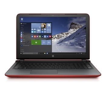 """HP Pavilion 15-ab127nc, T1L58EA#BCM, červený (red), notebook, AMD A6 6310, AMD Radeon R7 M360, AMD, 15,6"""", 1366x768, 8GB, SSD 256GB, DVD+-RW, W10, Wi-Fi, BT, CAM, USB 3.0, HDMI"""