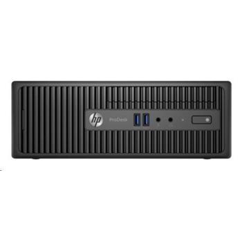 HP ProDesk 400 G3 SFF, X3K60EA#BCM, černý (black), počítačová sestava, Core i3-6100, 2,9GHz, 4GB, Intel HD 530, HDD 500GB, DVD+-RW, Windows 10 Pro, 4x USB 2.0, 4x USB 3.0