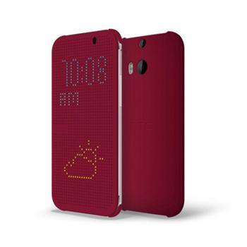 HTC Dot Folio pouzdro pro HTC One (E8), HC M110 P, fialové (purple)