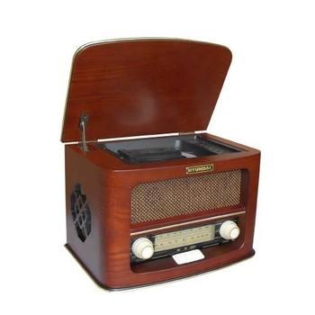 HYUNDAI Retro RC606, , dřevo, rádiopřijímač