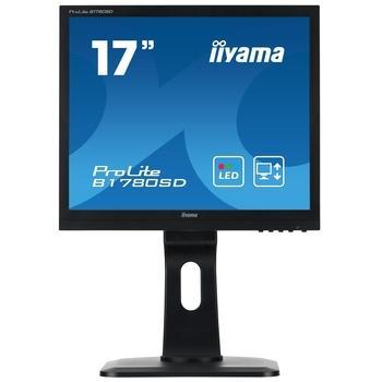 """iiYAMA B1780SD-B1, B1780SD-B1, černá (black), 17"""" LCD monitor, 5:4, TFT TN, 1000:1, 5ms, 250cd/m2, 1280x1024, LED, D-SUB, DVI, repro, Pivot"""