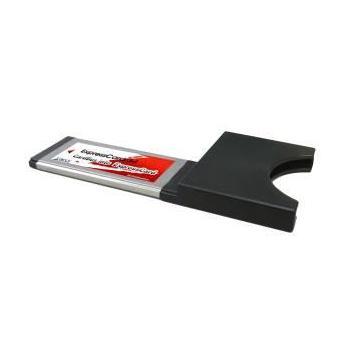 KOUWELL EK-108, EK-108, redukce Express Card na PCMCIA