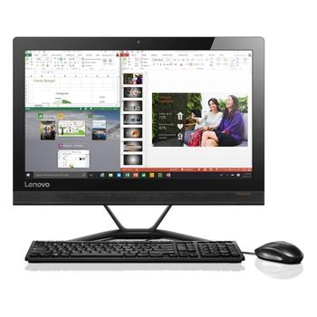 "LENOVO IdeaCentre AIO 300, F0BV001QCK, All In One PC, Celeron G3900T, 2,6GHz, 4GB, HDD 500GB, DVD+-RW, Wi-Fi, čtečka karet, Windows 10, 20"", 1600x900, 2x USB 2.0, 2x USB 3.0"