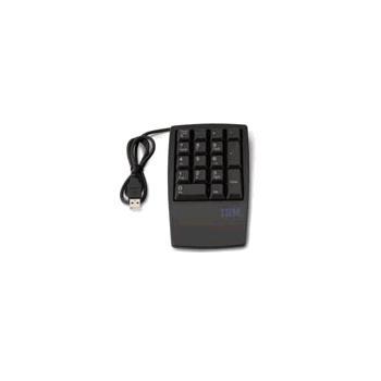 LENOVO USB numerická klávesnice, 33L3225, černá (black), numerická klávesnice, USB