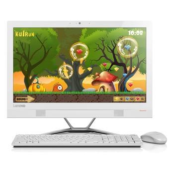 "LENOVO IdeaCentre 300, F0BY005MCK, bílý (white), All In One PC, Core i3-6100T, 3,2GHz, 4GB, HDD 1TB, DVD+-RW, Wi-Fi, Windows 10, 23"", 1920x1080, 3x USB 2.0, 2x USB 3.0"
