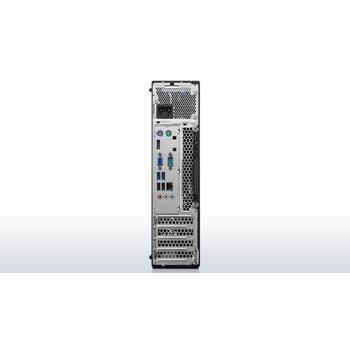 LENOVO ThinkCentre M700 73 SFF, 10GT002BMC, počítačová sestava, Core i5 6400, 2,7GHz, 4GB, Intel HD 530, HDD 500GB, DVD+-RW, čtečka karet, W7 Profi 64 + W10P, 2x USB 2.0, 4x USB 3.0
