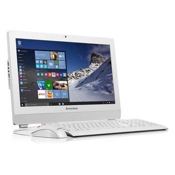 """LENOVO S200z, 10K5001BMC, bílý (white), All In One PC, Pentium N3700, 1,6GHz, 4GB, HDD 500GB, DVD+-RW, W7 Profi 64 + W10P, 19,5"""", 1600x900, 2x USB 2.0, 2x USB 3.0"""