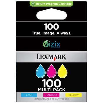 LEXMARK 14N0849, 14N0849, CMY, inkoustová náplň pro S305, S405, S505, S605, PRO205, PRO705, PRO805, PRO905