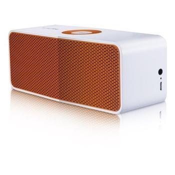LG NP5550WO, NP5550WO, bílo-oranžový(white/orange), přenosné reproduktory, 1 reproduktor, 20W, bluetooth, jack 3,5mm