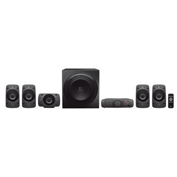 LOGITECH Z906 Surround Sound Speakers, 980-000468, reproduktory, 5.1ch zvuk, plast, 500W, DO, S/PDIF