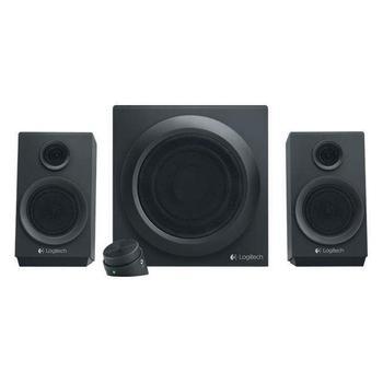 LOGITECH Z333 2.1, 980-001202, černé (Black), reproduktory, 2.1ch zvuk, 80W, výstup na sluchátka, jack 3,5mm