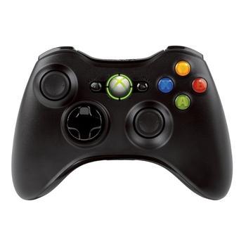MICROSOFT XBOX 360 Wireless Controller, NSF-00002, černý (black), Gamepad bezdrátový pro XBOX 360