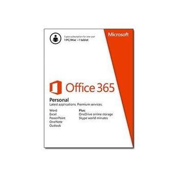 MICROSOFT Office 365 Personal, QQ2-00012, 1 licence, 12 měs.