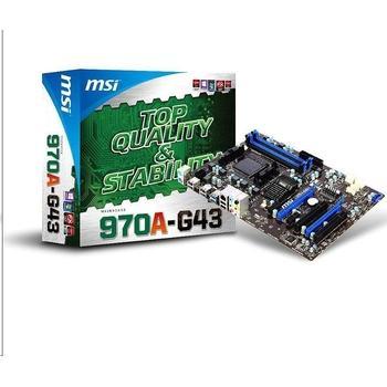MSI 970A-G43, 970A-G43, základní deska, socket AM3+, AMD 970/SB950, DDR3, 2x PCIe 2.0, GLAN, 6xUSB 2.0, 2xUSB 3.0, 8ch audio, ATX