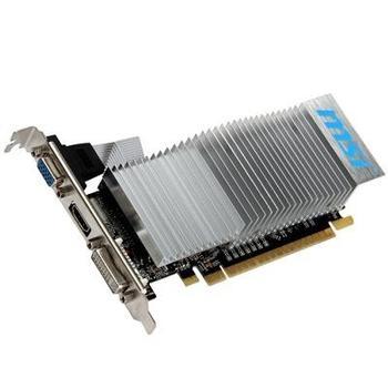 MSI N610-2GD3H/LP, N610-2GD3H/LP, grafická karta, GeForce GT 610, 2GB DDR3, PCIe 2.0, 15pin D-sub, DVI, HDMI, pasivní chladič