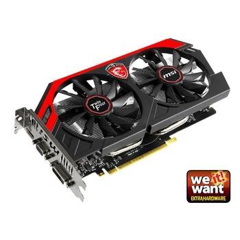 MSI N750Ti TF 2GD5/OC Gaming, N750Ti TF 2GD5/OC Gaming, grafická karta, GeForce GTX 750 Ti, 2GB, DDR5, PCIe 3.0, 15pin D-sub, DVI, HDMI